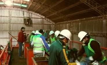 Asueto para los trabajadores de la Planta de Tratamiento de Residuos
