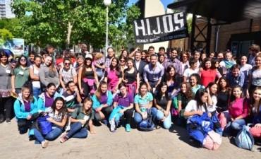 Estudiantes de toda la provincia participaron del cierre de Jóvenes x la Memoria con Delegación Federalense