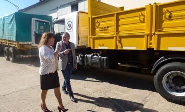 Vialidad incorporó maquinaria para optimizar la recuperación de caminos rurales