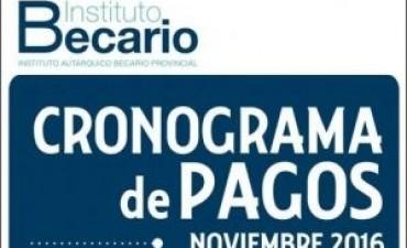 Este jueves se inicio el Cronograma de Pago de las Becas Provinciales