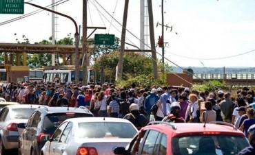 Compras en el exterior: Cada vez más gente que cruza la frontera en Misiones