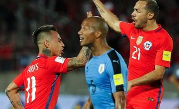 Chile lo dio vuelta y derrotó a Uruguay en Santiago