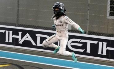 Nico Rosberg es el nuevo campeón de la Fórmula 1