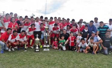Las Flores repitió el Super Campeonato del Fútbol de Federal