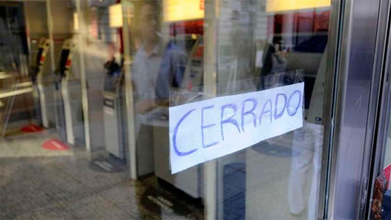 Este lunes no habrá actividad bancaria en todo el país
