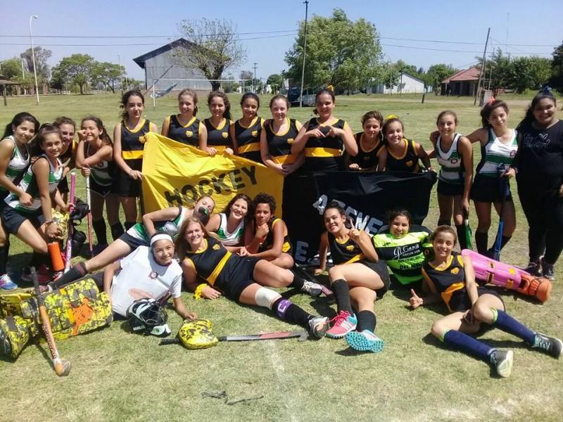 ATENEO HOCKEY se consagro campeon de la Liga Sur de Entre Rios en la 7ma division.