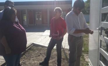 """Ya están instaladas las cuatro aulas móviles en la Agro """"Florencio Molina Campos"""""""