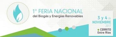 FEDERAL INVITADA A PARTICIPAR DE LA 1ª FERIA NACIONAL DEL BIOGÁS Y ENERGÍAS RENOVABLES