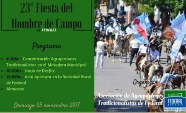 EL DOMINGO SE REALIZA LA 23º FIESTA DEL HOMBRE DE CAMPO