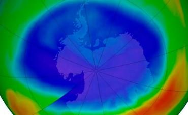 Se redujo el agujero de ozono: Tiene el tamaño más pequeño desde 1988