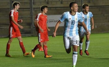 La Selección argentina Sub 15 aplastó a República Checa