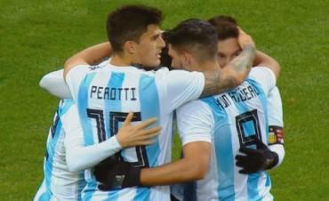 Argentina se impuso ante Rusia en Moscú