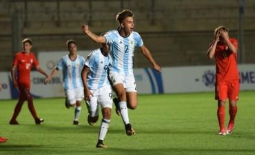 La Argentina Sub 15 empató con Chile y llega exigida a la última fecha