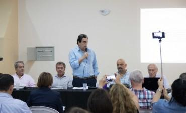 Reunión Provincial de Salud en Villaguay