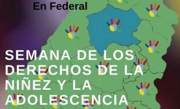 Federal : Semana de los Derechos de la Niñez y Adolescencia