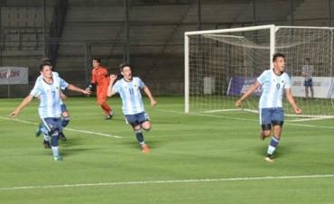 Sudamericano Sub 15: la Argentina goleó 4-1 a Perú y jugará la final en San Juan contra Brasil