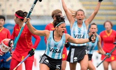 Las Leonas golearon a China en su debut en la Liga Mundial