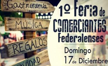 17 de diciembre 1ª feria de comerciantes federalenses