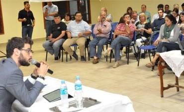 Diego Leuco en los festejos de la Fundación de la Sociedad Rural de Federal
