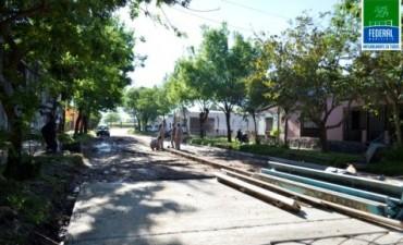 Pavimentación de calle Eulogio Gonzalez