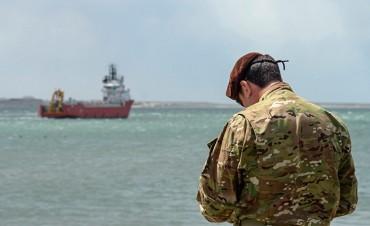 En el área de búsqueda del Ara San Juan trabajan 14 buques y 3 aeronaves