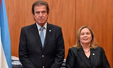 Castrillón se convirtió en el nuevo presidente del Superior Tribunal de Justicia