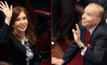 Juraron los senadores electos: Cristina y Menem fueron los más aplaudidos