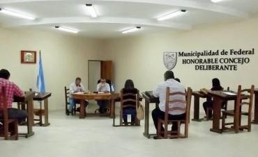 Se aprobó el presupuesto municipal de Federal para el 2018.
