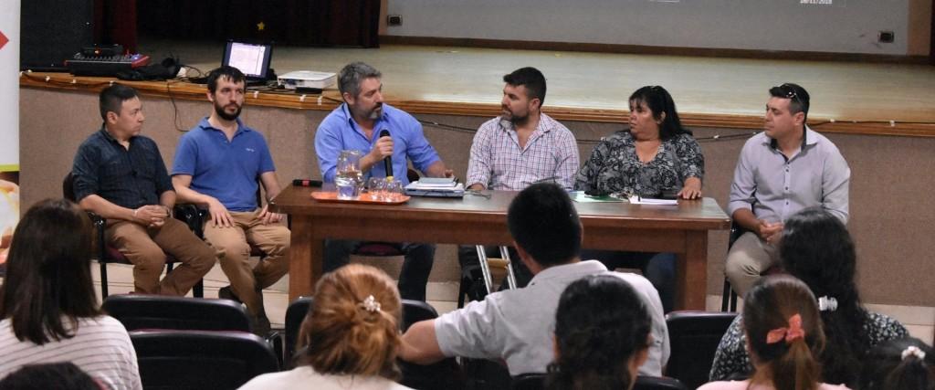 Se realizó la Jornada de Capacitación en Educación, Trabajo y Producción