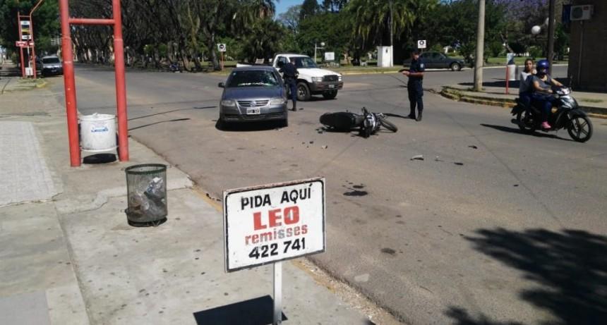 Las calles de la Ciudad suman accidentes .