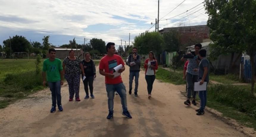 CAMPAÑA DE CONCIENTIZACIÓN EN MATERIA AMBIENTAL EN BARRIO EL SILBIDO
