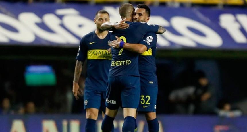 Superliga: Boca lo dio vuelta y goleó a Tigre en la Bombonera