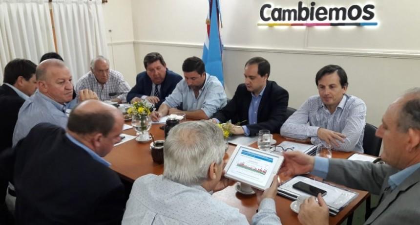 Legisladores de Cambiemos se reunieron con Niez y analizaron la situación energética de la provincia.