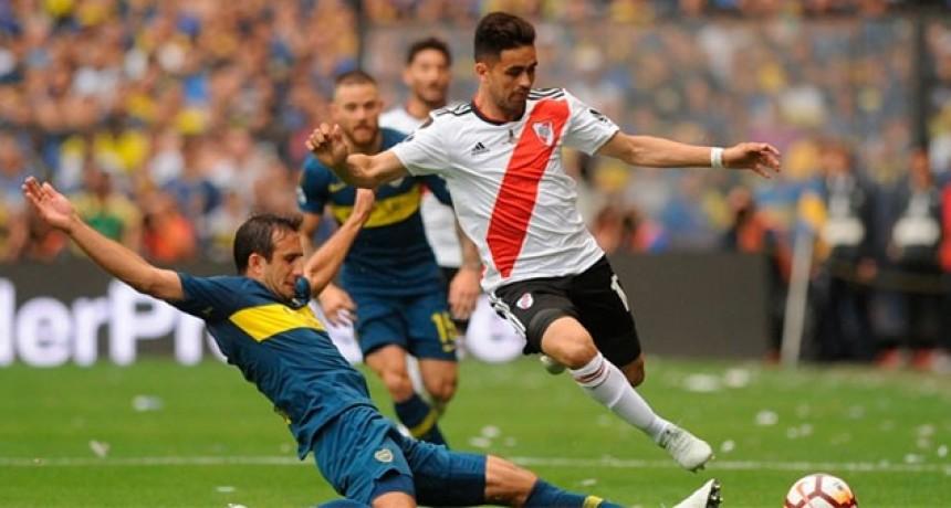 En un vibrante partido, Boca y River empataron en la primera final de la Libertadores
