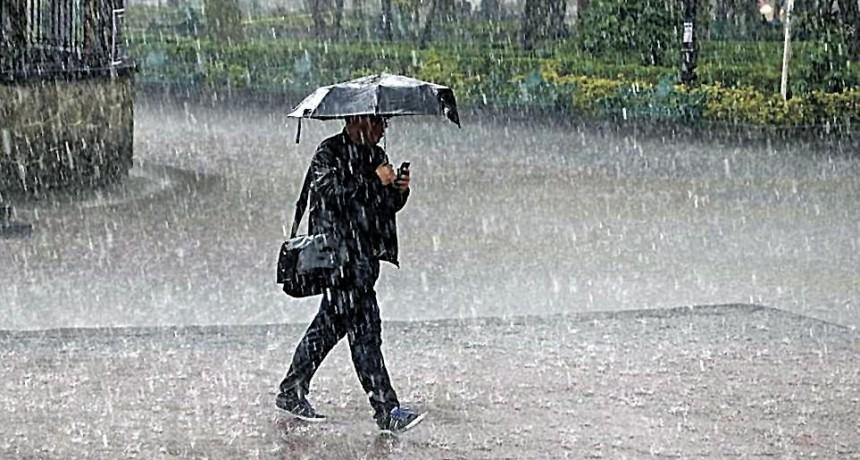Datos de la lluvia caída en el Departamento Federal