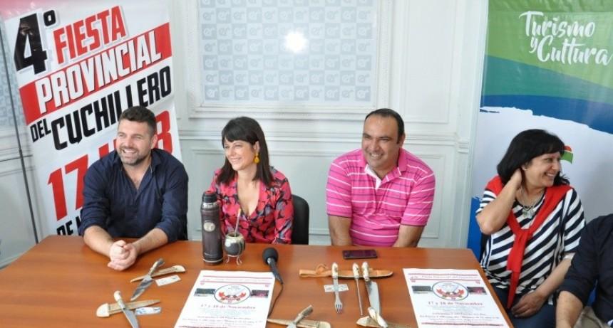Se presentó la 4° Fiesta Provincial del Cuchillero de Federal en la capital entrerriana
