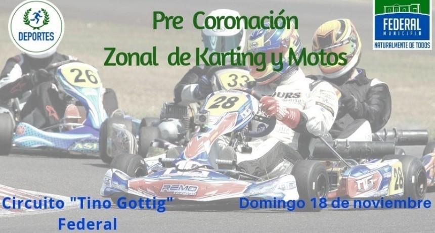 FEDERAL SERA SEDE DE LA PRE CORONACIÓN ZONAL DE KARTING Y MOTOS