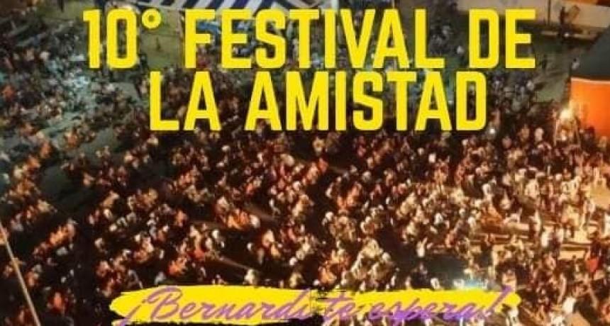 EL 29 DE DICIEMBRE, FIESTA DE LA AMISTAD EN CONSCRIPTO BERNARDI