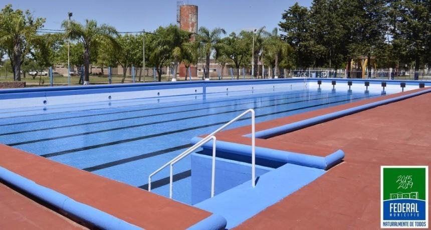 Se reciben inscripciones para la Colonia de Vacaciones y temporada de Piletas en el Polideportivo