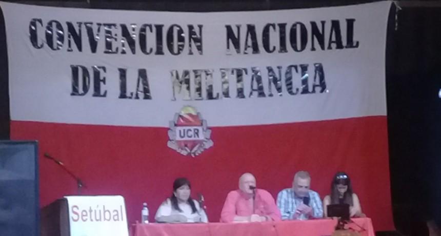 UCR: CONVENCION NAC. DE LA MILITANCIA