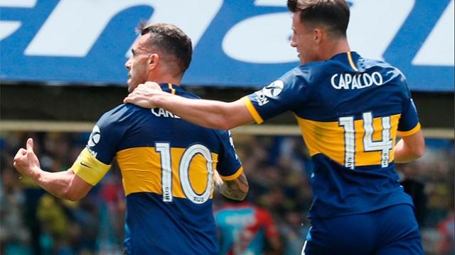 Boca se recuperó con una goleada 5 a 1 ante Arsenal y es puntero de la Superliga