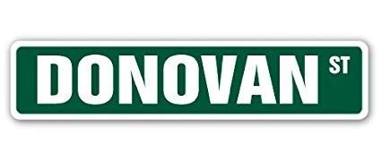 En tratamiento de los Concejales de Federal el cambio de nombre de calle Donovan .