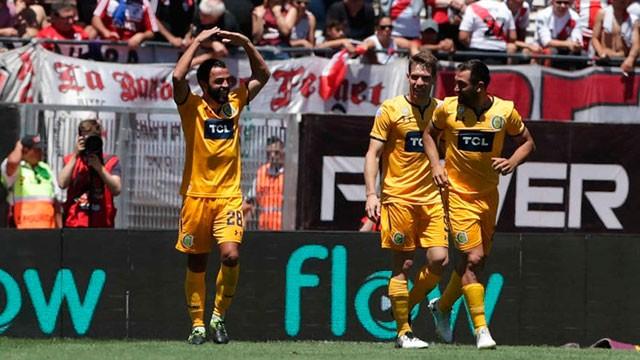 Rosario Central sorprendió a River y le ganó 1-0 en el Monumental