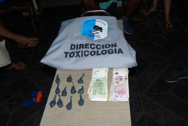 Personal Policial de la división Toxicologia Federal participó en allanamientos juntamente con Grupos Especiales