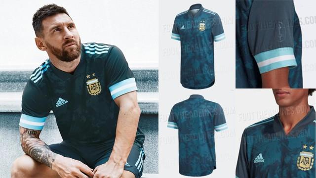 La casaca que estrenará la Selección Argentina frente a Brasil