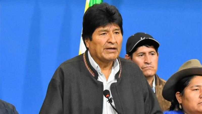 México le concede asilo político a Evo Morales