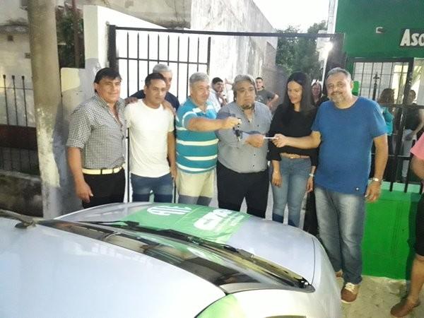 Ate Entre Ríos entrego automóvil a la Seccional de Federal