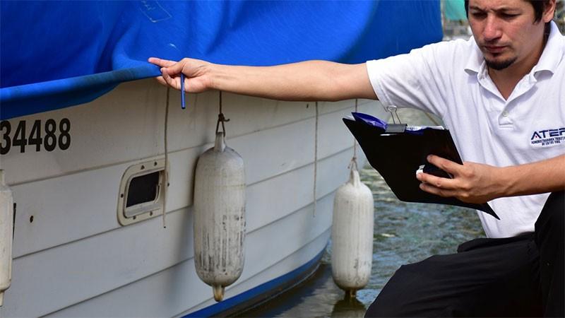 ATER detectó e incorporó 7000 embarcaciones deportivas que estaban sin declarar
