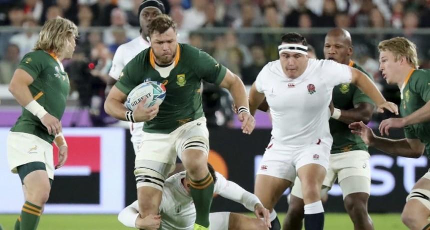 Mundial de rugby: Sudáfrica dio una lección, vapuleó a Inglaterra y es tricampeón