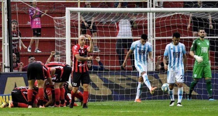 Patronato rescató un empate ante Racing 1 a 1 en el Grella por la Superliga